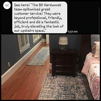 BDs Hardwood Floors Inc - Happy floors customer service